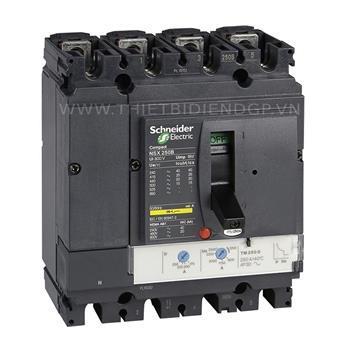 Compact NSX 250H 4P 250A Icu=70ka/415V LV431680