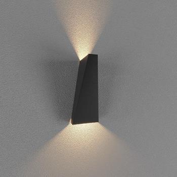Đèn Led gắn tường ngoài trời (LWA Series) 2*5W Vỏ Trắng và Vỏ Đen LWA919-BK