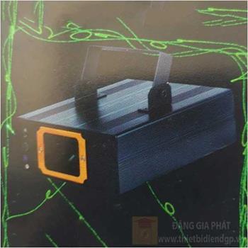 Đèn disco bắn tia laser xanh lá thay nhiều kiểu, cảm ứng theo nhạc Laser 08