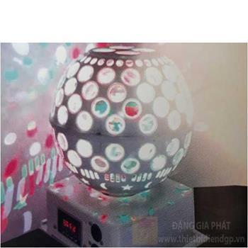 Đèn led disco Ø300, chuyển đổi nhiều hình, cảm ứng theo nhạc Laser Cầu Led A9