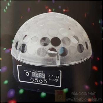 Đèn disco Led RGB 6W*1, Ø250*L135*H325, cảm ứng theo nhạc Laser Quay 14