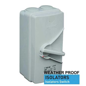 Cầu dao cách ly Isolator Switch AC23 4P 735320P-735323P