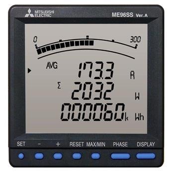 Đồng hồ đo điện đa năng dòng tiêu chuẩn dùng cho hệ thống 1P2W, 1P3W, 3P3W, 3P4W ME96SSRB-MB