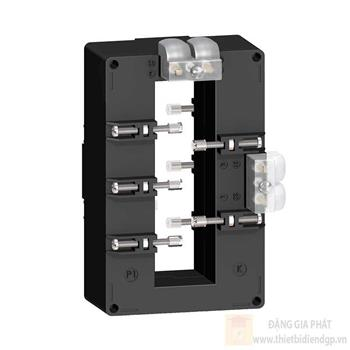 Current transformer tropicalised double output for bars 36x127 METSECT5DB100