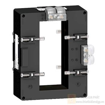 Current transformer tropicalised double output for bars 52x127 METSECT5DC200