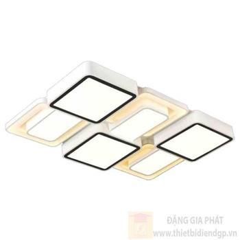 Đèn mâm ốp trần chữ nhật Sano LED 205W Ø750*L1150*H150 MH 1090