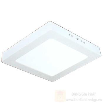 Đèn mâm phẳng đổi màu hợp kim nhôm cao cấp vuông, 3 chế độ ánh sáng MP xx LED