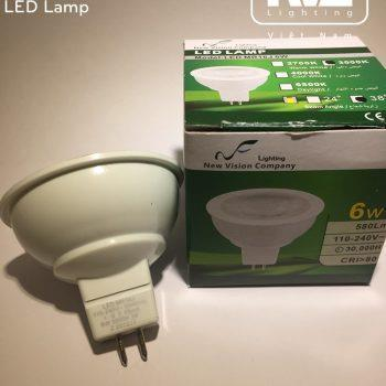 Bóng Led MR16J 6W 110 - 240V MR16J 6W 220V