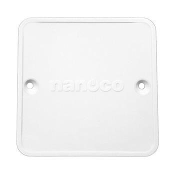 Nắp đế âm đơn dùng cho mặt vuông chuẩn BS NA105-N