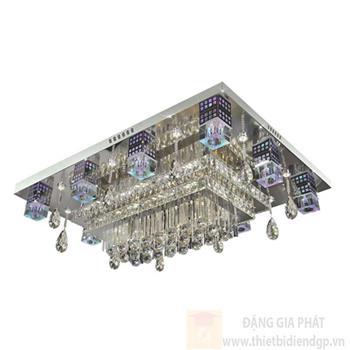 Đèn ốp trần Led vuông L1100*W800*H220, remote NC 80208 LED