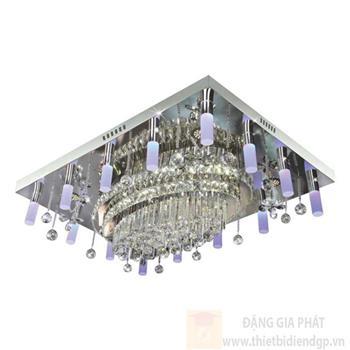 Đèn ốp trần Led vuông L1100*W800*H250, remote NC 80210 LED