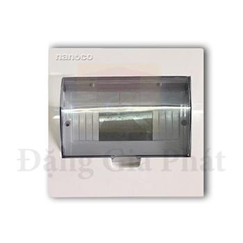 Tủ điện mặt nhựa đế kim loại chứa 4-8 modules NDP108
