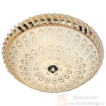 Đèn ốp trần Led tròn Ø350*H150, LED 9W, ánh sáng vàng NM 902 LED