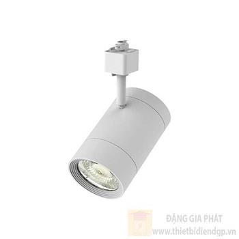 Đèn Chiếu điểm thanh ray màu trắng 14W-220V, Ø85 x H134mm, 1200lm NTRxxxW