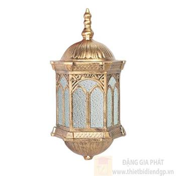 Đèn trụ cổng vuông Ø200*H410, E27*1 Lamp NVT 338A