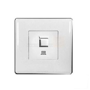 1 Cổng cắm mạng LAN cat5e P63545WHI