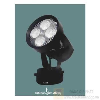 Đèn chiếu điểm thanh ray led PAR COB 30W, Ø115*H220-6000K-4000K PR 163