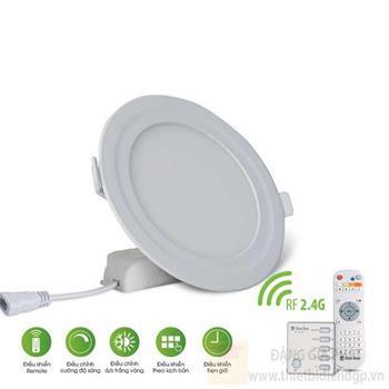 LED Panel tròn PT04L 9W, điều khiển bằng remote D PT04L 110/9W.RF