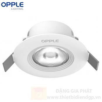 Đèn LED âm trần chiếu điểm Opple HS 7W LED SP-RA-HS 7W-GP