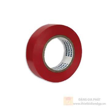 Băng dính điện to màu đèn và đỏ RB218/20R-D
