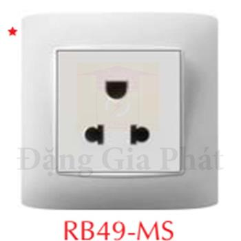 Ổ cắm 3 chấu RB49-MS