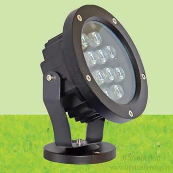 Đèn rọi chiếu điểm LED COB 15W Ø145*W85*H340, Ánh sáng vàng RN 0404