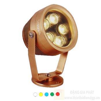 Đèn Led Chiếu Điểm Ø80 x L65 x H110, ánh sáng trắng, vàng, xanh dương, xanh lá, đỏ RN A35V