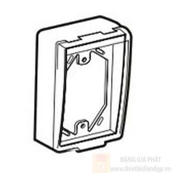 Hộp đậy phòng thấm nước dùng cho mặt ổ cắm chữ nhật S323DV