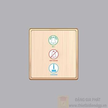Nút nhấn chuông + 1 đèn báo không làm phiền+ 1 đèn báo dọn phòng S7CDP