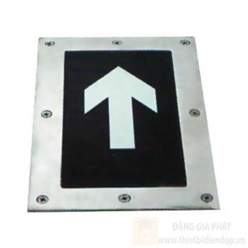 Đèn thoát hiểm âm sàn Duhal 3W vuông SND0034
