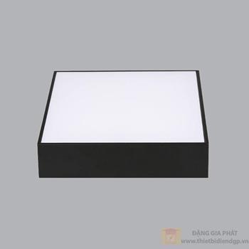 Led Downlight vuông nổi tràn viền đen 24W series SSDL SSDLB-24T