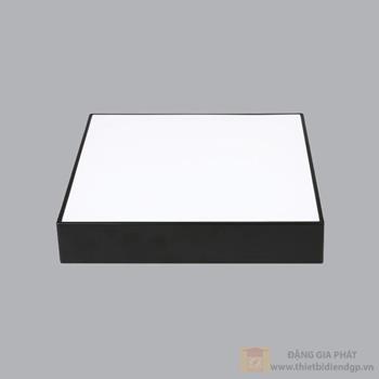 Led Downlight vuông nổi tràn viền đen 32W đổi màu series SSDL SSDLB-32/3C
