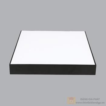 Led Downlight vuông nổi tràn viền đen 48W đổi màu series SSDL SSDLB-48/3C