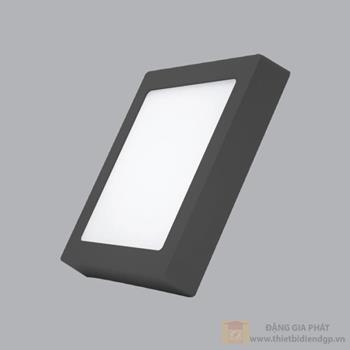 Đèn Led ốp trần vuông 24W viền đen SSPLB-24T