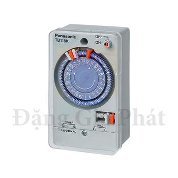 Công tắc đồng hồ (SPST type), 220-240VAC, 50Hz, 15A TB118