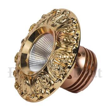 Đèn Led âm trần cổ điển gold 18k-Premier 10W TLC-ACĐ-VV-10W