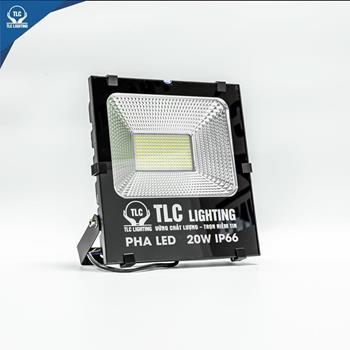 Đèn Led pha TLC không vít chịu nước 2 lớp 20W TLC-PT-20W