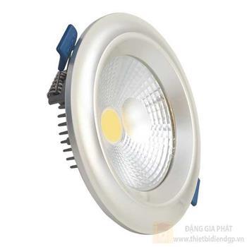 Đèn led âm trần mặt cong COB Plast 7W TT-PCO-VT-07W