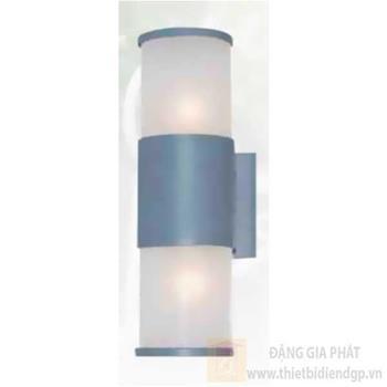Đèn vách Sano E27*2, Ø60*H330, vỏ xám GC 3817