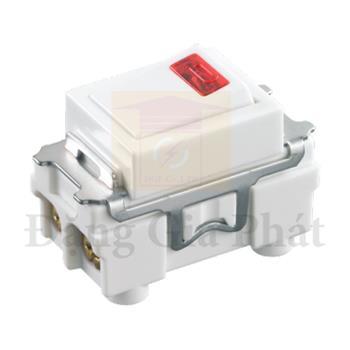 Công tắc D có đèn báo (dùng cho máy nước nóng, máy lạnh [ không chữ ] ), 250VAC-20A WBG5414699W-SP
