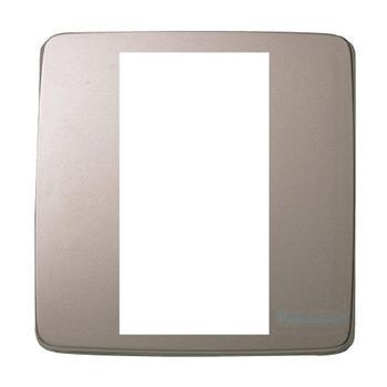 Mặt vuông dùng cho 3 thiết bị màu vàng ánh kim WMT7813MYZ-VN