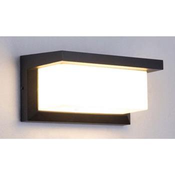 Đèn tường chống nước 6W, năng lượng mặt trời A013-2