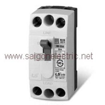 MCCB 2P 6-30A 1.5KA có vỏ BS32c W/C