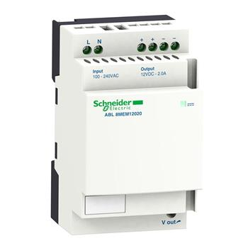 ABL8MEM12020 : Bộ nguồn Schneider 12 V - 2 A ABL8MEM12020