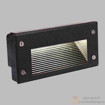 Đèn âm cầu thang Verona L150 x H70 - 3W, Vỏ Đen ACT-32111B