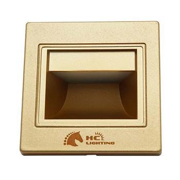 Đèn âm cầu thang 1.5W, vỏ vàng ACTVV