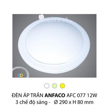 Đèn áp trần led 3 chế độ Anfaco AFC 077 12W 3C AFC 077 12W 3C
