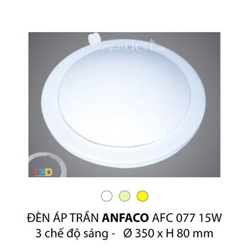Đèn áp trần led 3 chế độ Anfaco AFC 077 15W 3C AFC 077 15W 3C