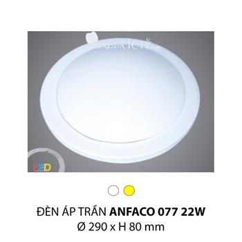 Đèn ốp trần bóng huỳnh quang Anfaco AFC 077 22W AFC 077 22W