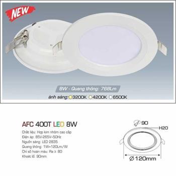 Đèn âm trần cao cấp Anfaco AFC 400T AFC 400T